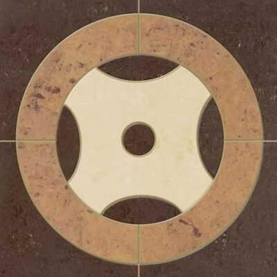 Dekor z gresu polerowanego DG-03A wymiary: 12 x 12