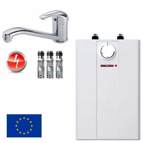 Pojemnościowy ogrzewacz wody podumywalkowy bojler 5 L Stiebel Eltron ESH 5 U-N Trend 2 kW +bateria zlewozmywakowa