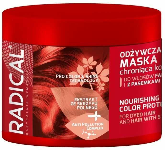 RADICAL Odżywcza maska ochraniająca kolor do włosów farbowanych i z pasemkami 300ml