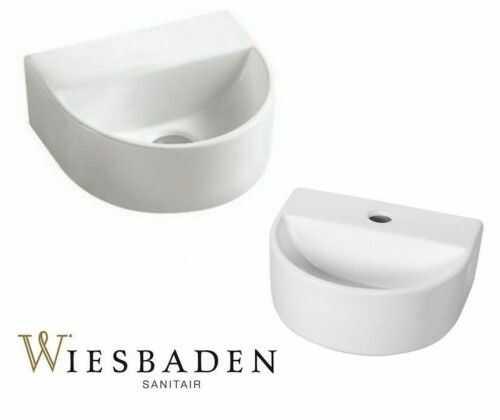 Umywalka mała ceramiczna 30x25x12 cm, LARA biała