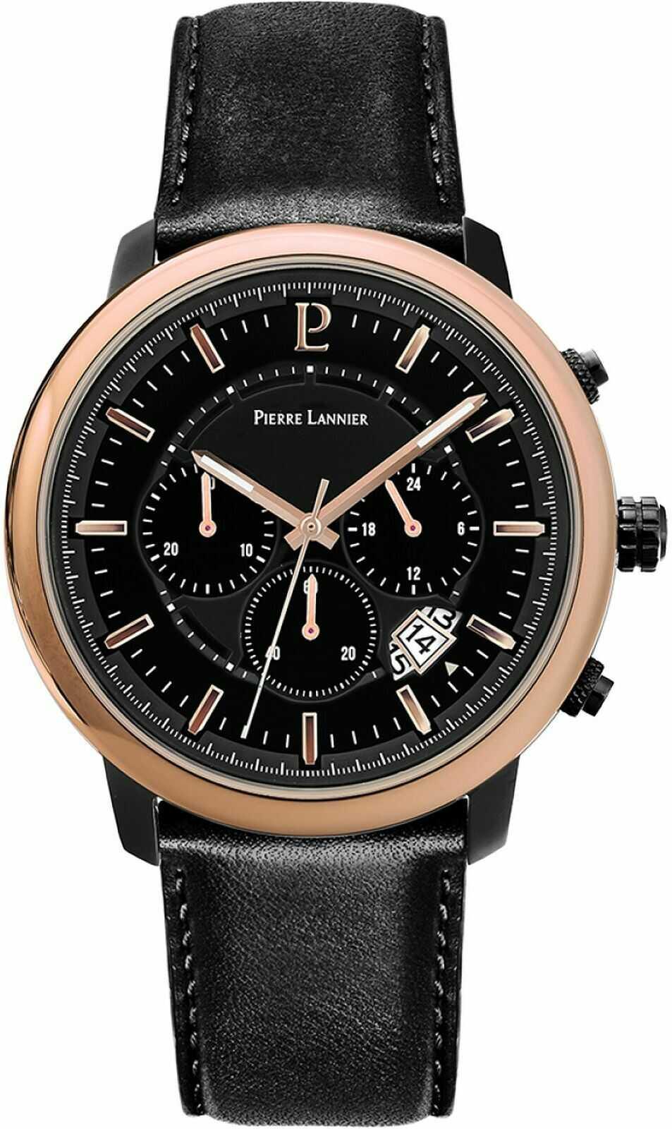 Zegarek męski Pierre Lannier Impulsion Chronograph