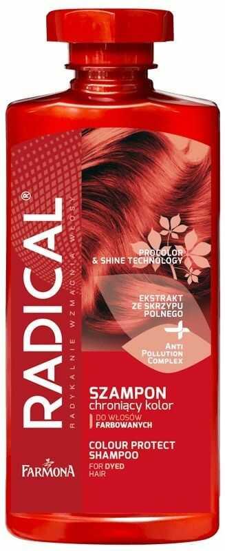 RADICAL Szampon ochraniający kolor do włosów farbowanych i z pasemkami 400 ml