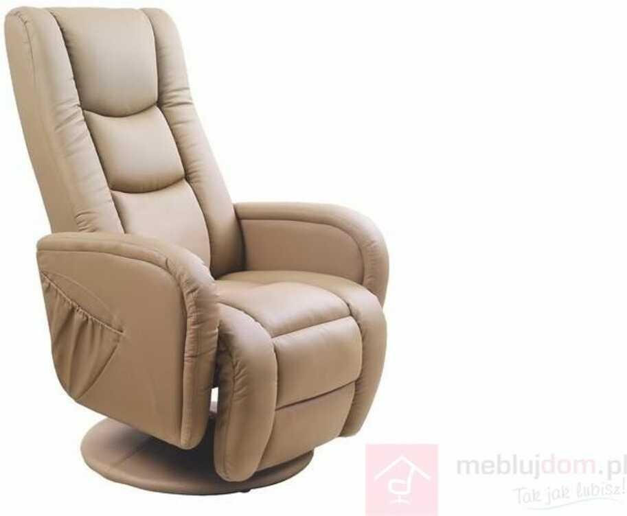 KUPON 10% NA STRONIE  Fotel PULSAR Halmar Beżowy [Wysyłka 2020-03-10]