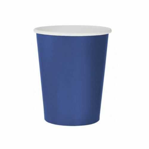 Kubeczki papierowe Party, niebieskie, 14 szt.