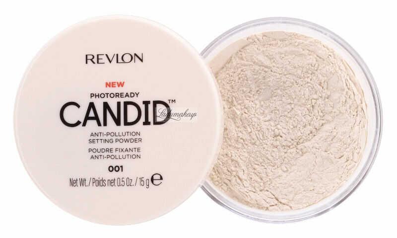 Revlon - PHOTOREADY CANDID - Anti-Pollution Setting Powder - Sypki puder do twarzy - 001