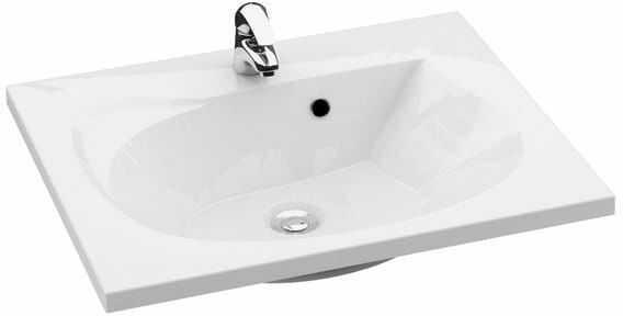 Ravak Rosa 600 umywalka biała z otworami XJ201160000