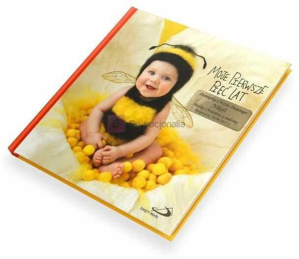 Moje pierwsze pięć lat (pszczółka) - Album z grawerowaną dedykacją