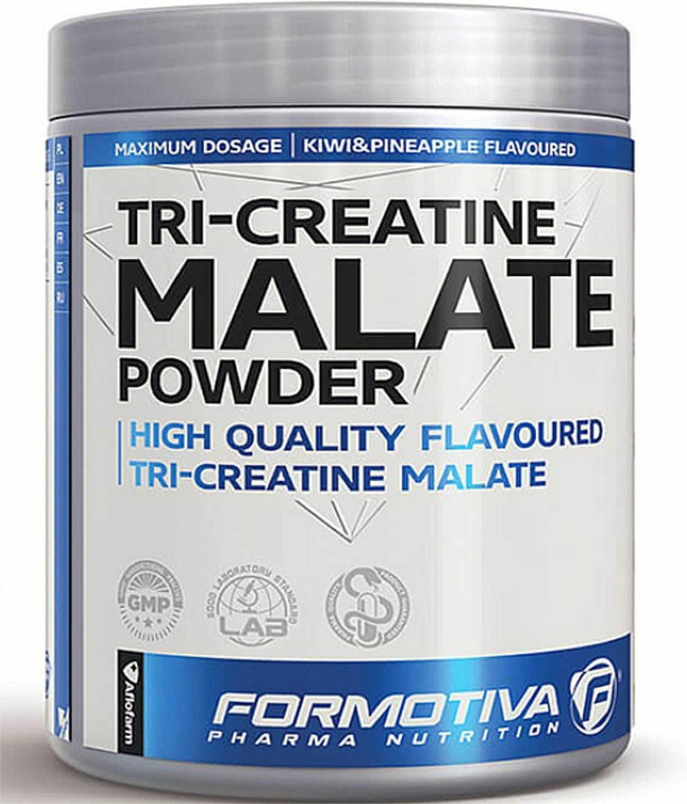 FORMOTIVA Tri-Creatine Malate Powder 400 g czarna porzeczka TANIE ODŻYWKI , NATYCHMIASTOWA WYSYŁKA !