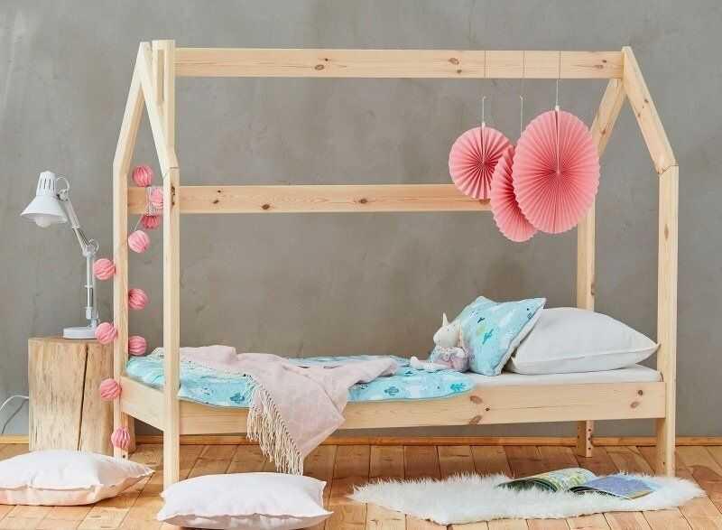 Łóżko Domek 160x70 Pinio Łóżka Domki