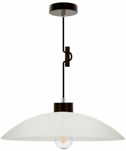 SPOTLIGHT lampa wisząca z drewno bukowe kolor orzech, 1408976