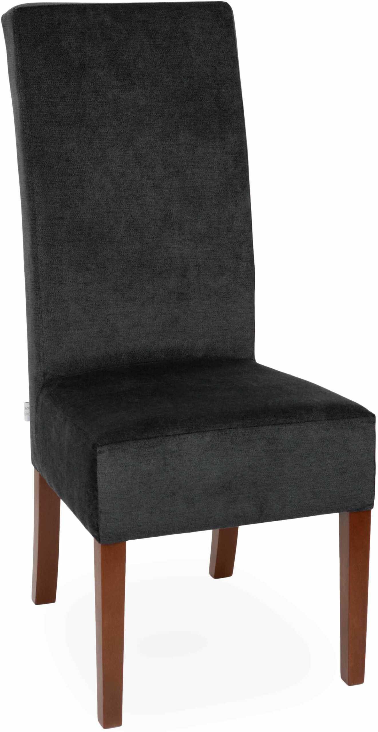 Krzesło Simple 108, prosta forma, wysokie oparcie, klasyczne, do jadalni, do restauracji, wygodne