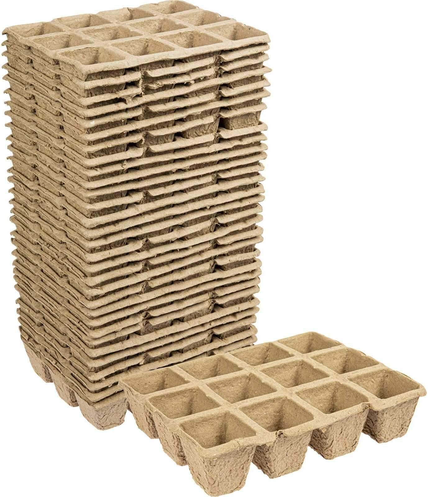 Doniczki papierowe 4,5x5x4,5 cm, 30 szt.