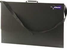 Leniar Teczka na rysunki czarna B3 (520x365x30mm)