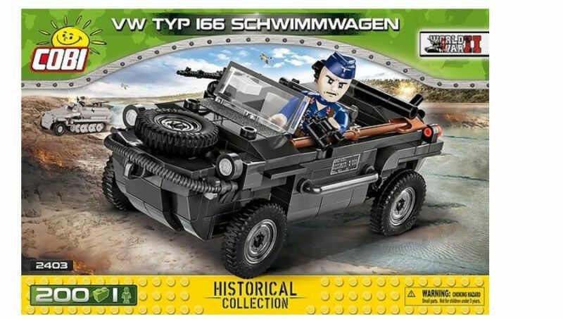Klocki VW Typ 166 Schwimmwagen (GXP-756630)