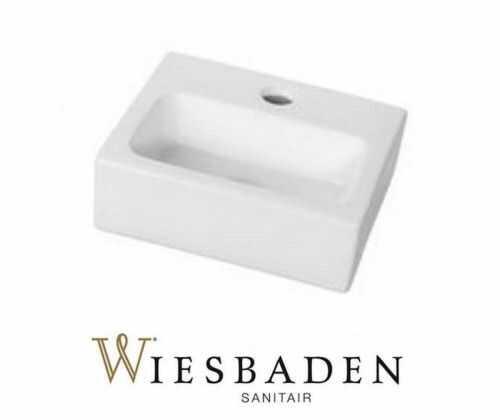 Umywalka mała ceramiczna 28x24,5 cm LETO, biała
