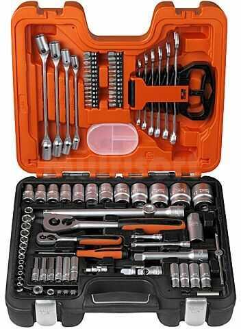 Zestaw 91 kluczy BAHCO S910