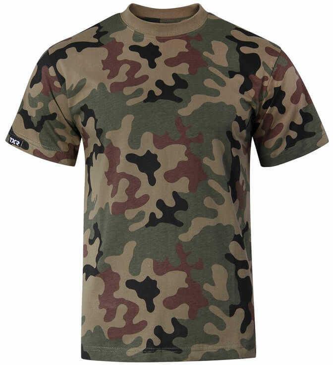 Texar Koszulka T-Shirt PL Camo