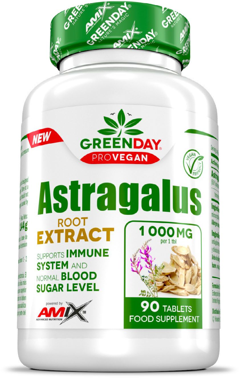 Ekstrakt z korzenia Astragalusa - Traganek - Vcaps Plus - Amix GreenDay ProVegan (Astragalus Root Extract)