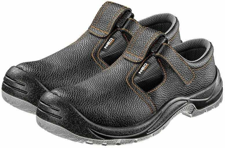Sandały robocze skórzane S1 SRC rozmiar 47 82-070-47