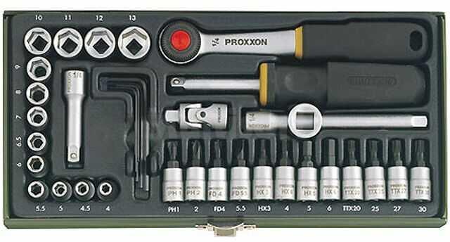 Zestaw 36 kluczy PROXXON 23080