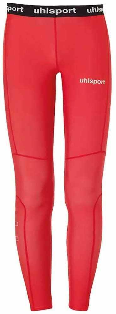 Uhlsport Distinction Pro długie legginsy dziecięce, uniseks czerwony czerwony 140