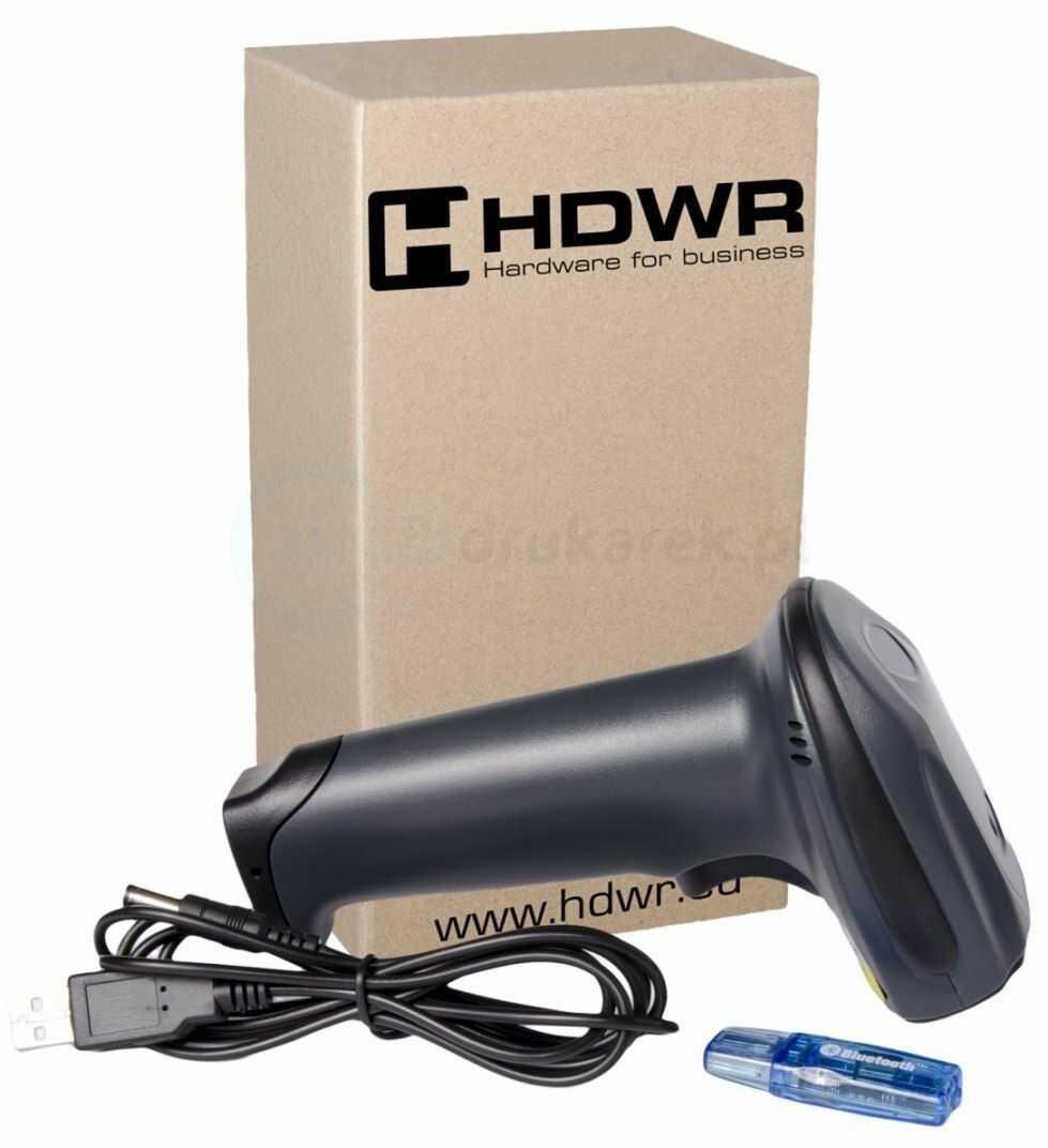 Bezprzewodowy skaner kodów kreskowych 1D HDWR HD-73 BT