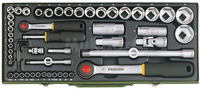Zestaw 56 kluczy PROXXON 23040
