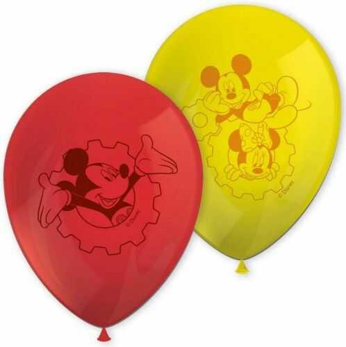 Balony Mickey Mouse Club House, 8 szt.