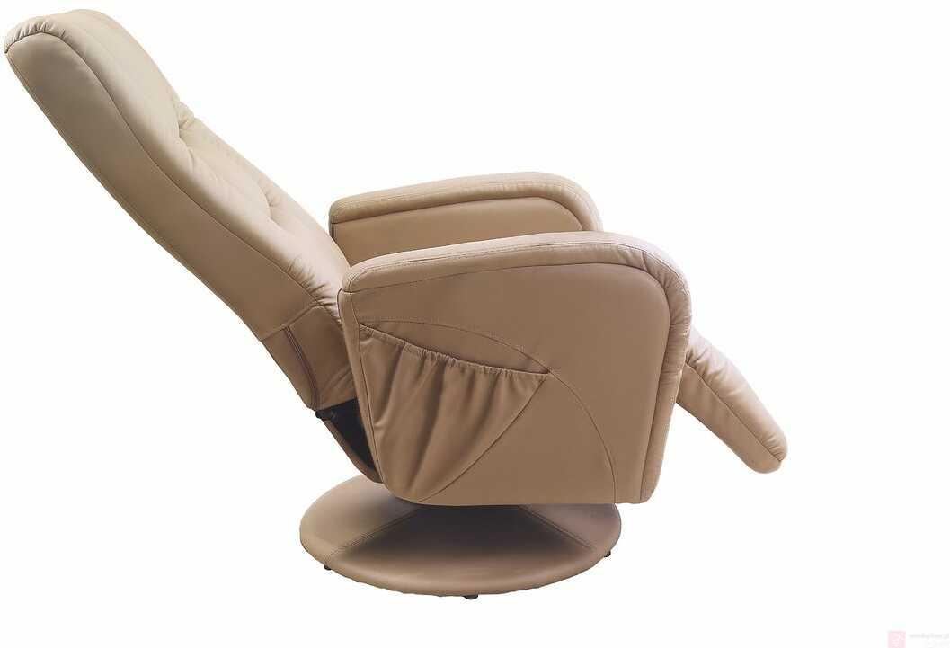 KUPON 10% NA STRONIE  Fotel PULSAR Halmar Cappuccino