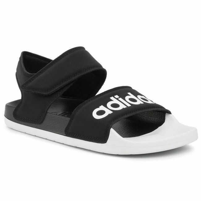 Sandały adidas - adilette Sandal F35416 Cblack/Ftwwht/Cblack