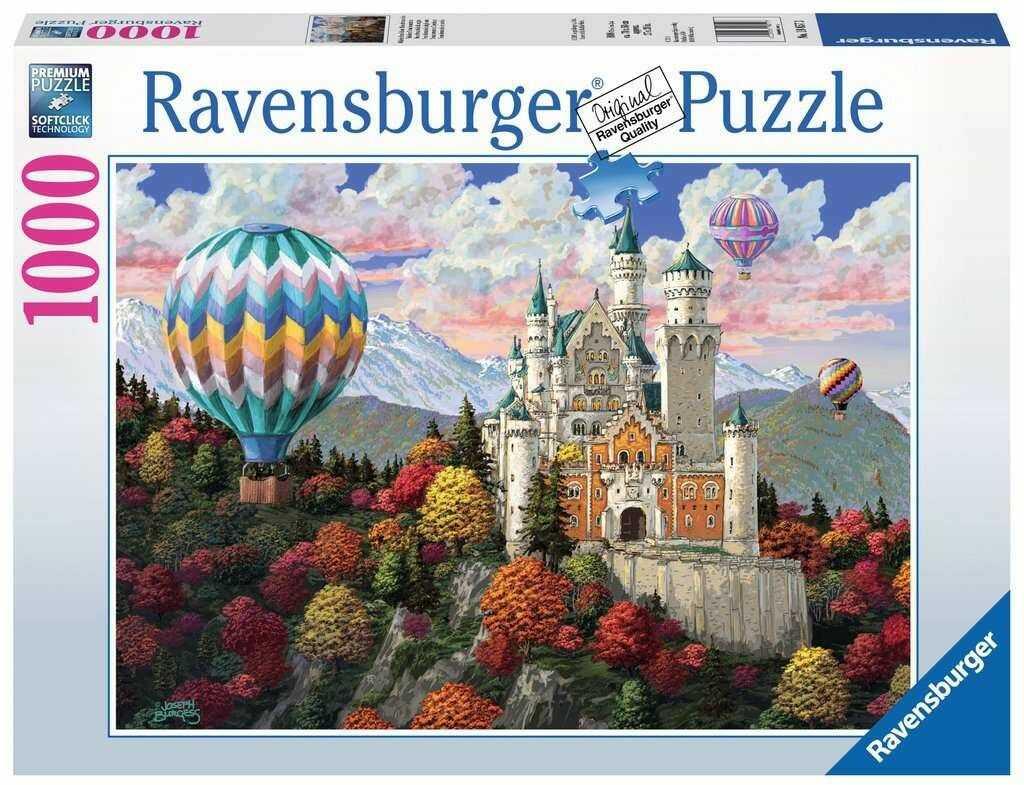 Puzzle Ravensburger 1000 - Marzenia Neuschwanstein
