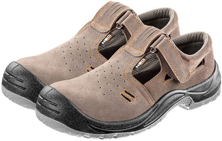 Sandały robocze zamszowe S1 SRC rozmiar 38 82-080-38