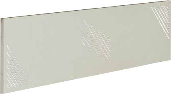 Osłona metalowa 16 do biurka STB 160 cm