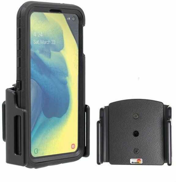 Uchwyt uniwersalny pasywny do iPhone 11 bez futerału oraz w futerale lub etui o wymiarach: 75-89 mm (szer.), 9-13 mm (grubość)