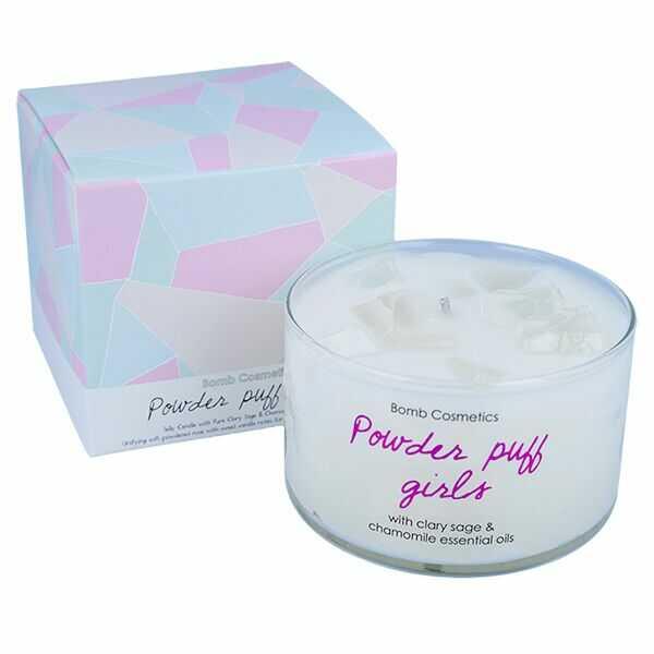 Bomb Cosmetics świeca zapachowa z galaretą Powder Puff Girls