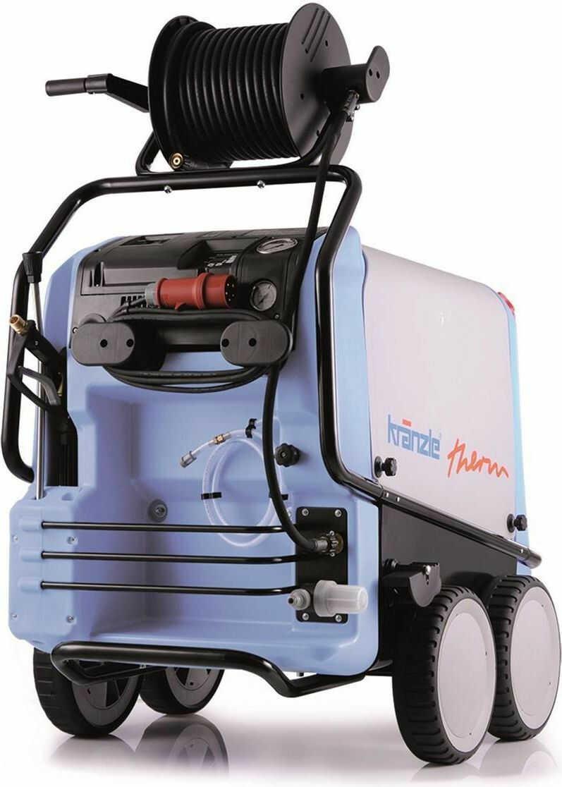 Myjka ciśnieniowa Kranzle therm 635-1 z bębnem na wąż -15m
