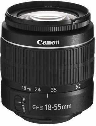 Canon EOS 4000D+ EF-S 18-55mm III czarny