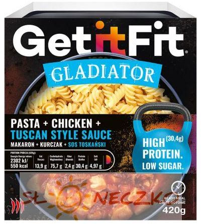 Makaron z kurczakiem i sosem toskańskim 420 g GetitFit