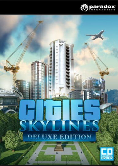Cities Skylines - Deluxe Edition (PC) Steam