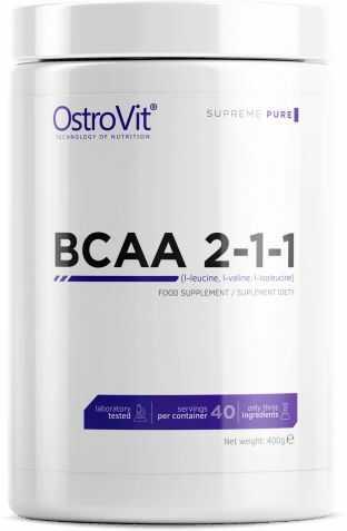OSTROVIT BCAA 2-1-1 400g - Cytryna