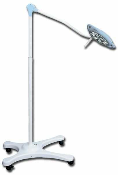 Lampa operacyjna statywowa z awaryjnym zasilaniem PENTALED 12 LED LIGHT Lampa operacyjna