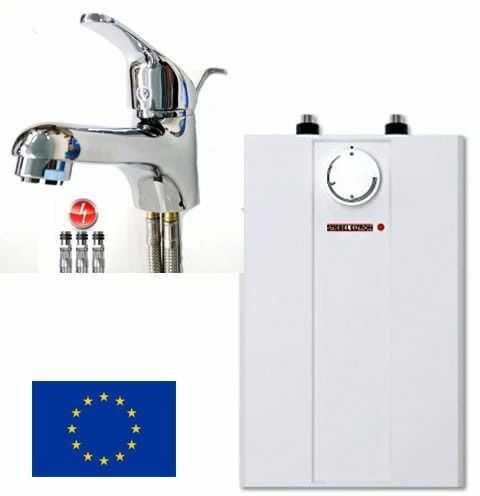 Pojemnościowy ogrzewacz wody podumywalkowy bojler 5 L Stiebel Eltron ESH 5 U-N Trend 2 kW +bateria umywalkowa