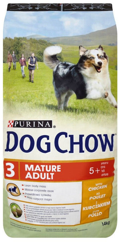 PURINA Dog Chow Mature Adult Chicken 14kg