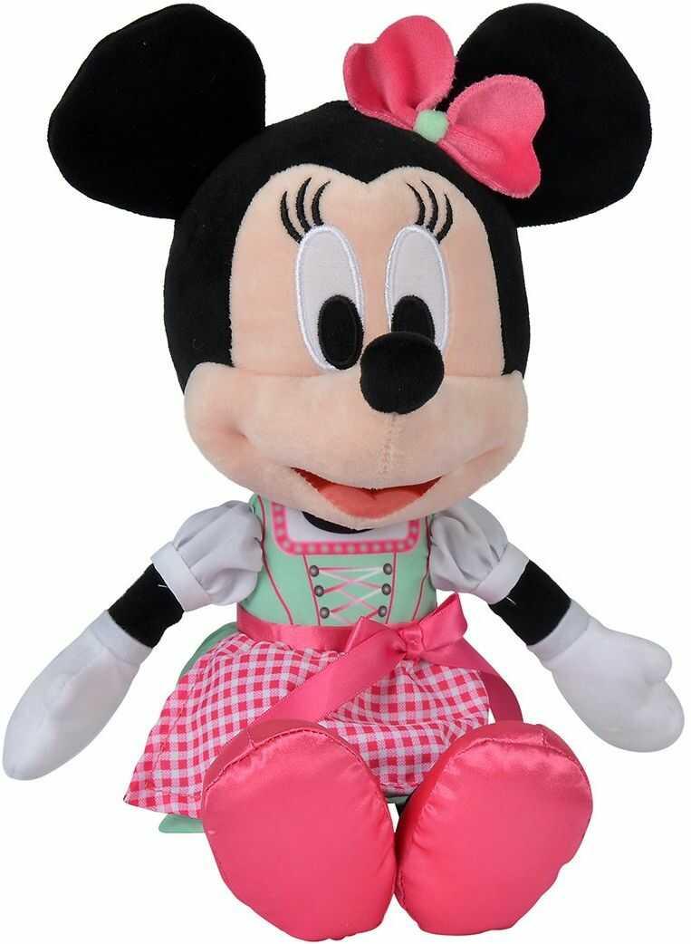 Simba 6315875755 Disney Minnie w Dirndl, nowy, 25 cm, zielony