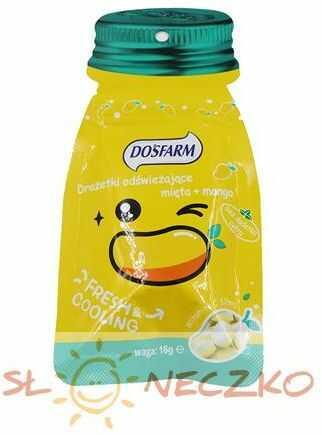 Drażetki odświeżające mięta + mango 16 g Dosfarm