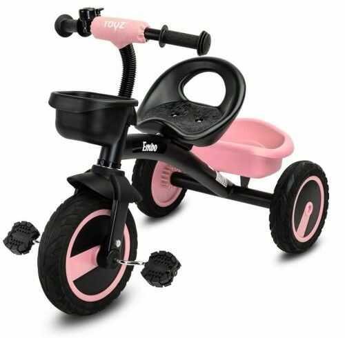 Caretero Embo Toys Rowerek trójkołowy Pink