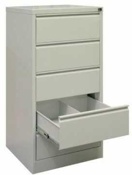 Metalowa szafa na kartoteki medyczne SZK 318 RODO B5 5 szuflad