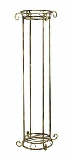 Kwietnik metalowy - Kolumna w 7 Kolorach - Stojak na kwiatki - 150cm