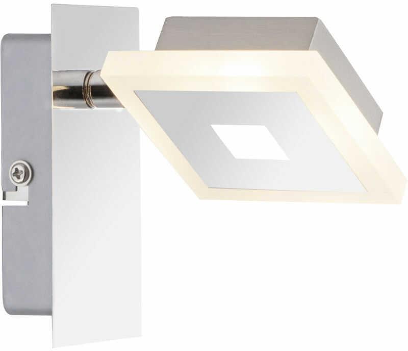 Globo GEROLF 56111-1 kinkiet lampa ścienna spot chrom 1xLED 5W 3000K 7,5cm