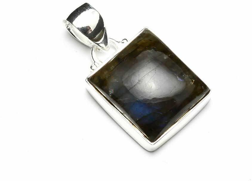 Kuźnia Srebra - Zawieszka srebrna, 31mm, Labradoryt, 6g, model
